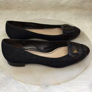 Cole Haan denim / Leather shoe size 8